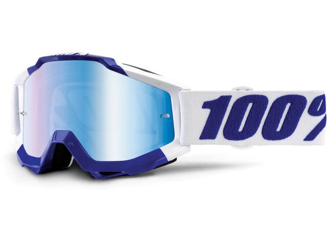100% Accuri - Masque - Anti Fog Mirror Lens / bleu/blanc